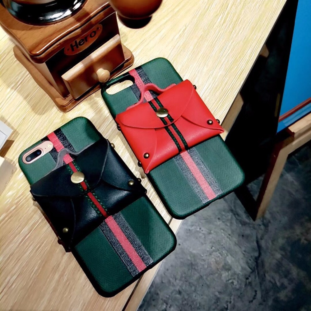 New Winter Phone Bag Cases for iphone 7 6 6s Plus x 10 8 8Plus leather pocket wallet mobil