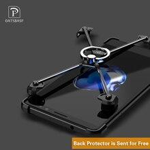 X Форму Кольца кронштейн чехол для Huawei Mate 9 Pro 5.5 «Личность основа для Mate9 металла границы и кольцо Держатель металлический бампер случаях