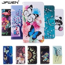 JFWEN Leather Case For Samsung Galaxy A7 2018 Case Flip Book Wallet Capa For Funda Samsung Galaxy A7 2018 A750 Phone Case Cover qijun glitter bling flip stand case for samsung galaxy a7 a 7 a700f 2016 a710 2017 a720 sm a720f wallet phone cover coque
