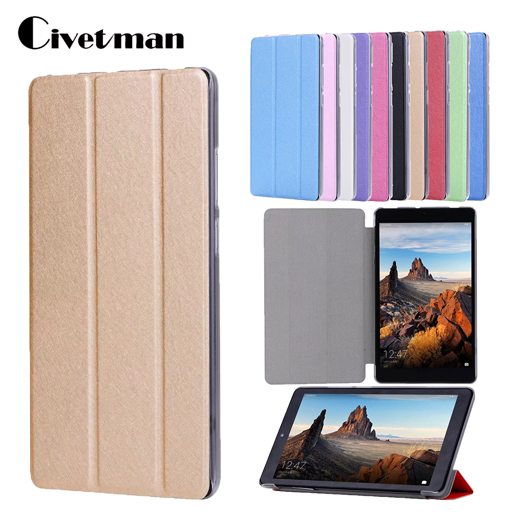 Civetman Ultra slim thin magnetic PU leather cover case for Huawei MediaPad T3 7.0 BG2-W09 tablet case for Honor Play Pad 2 7.0 leather case for huawei mediapad t3 7 0 colorful print flip cover cases for honor play pad 2 7 inch wifi bg2 w09 protector