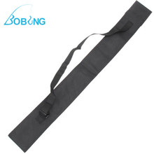 New 115cm Black Fishing Bags Portable Folding Fishing Rod Carrier Nylon Fishing Pole Tools Storage Bag Case Fishing Gear Tackle