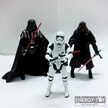 "Star Wars 7 A Força Desperta O Black Series #02 Darth #02 maul darth vader Stormtrooper 6 ""/15 cm PVC action figure toy modelo(China)"