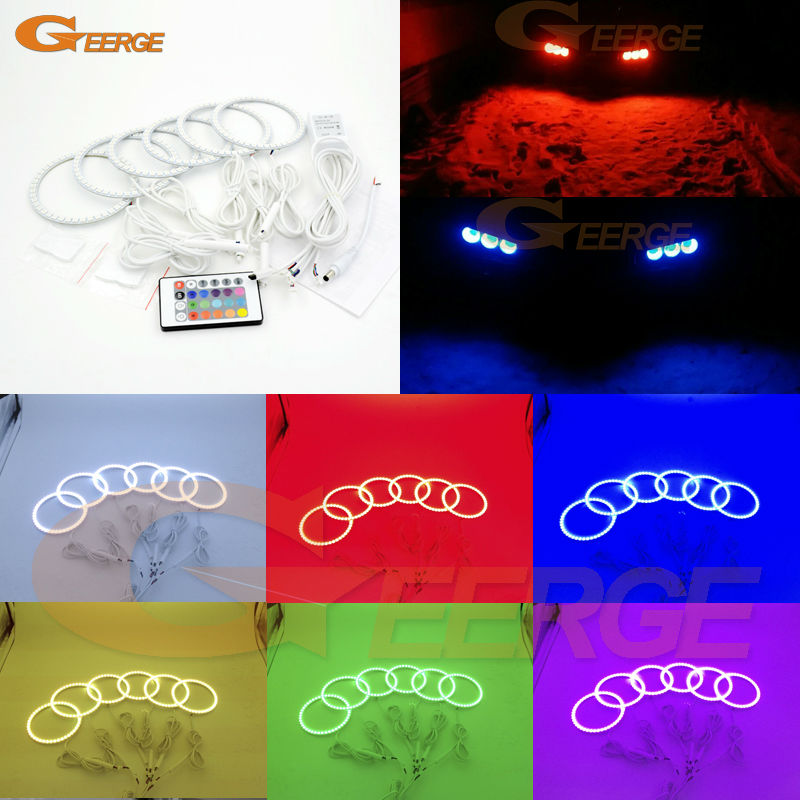 For Alfa Romeo 159 2005-2011 Excellent Multi-Color Ultra bright RGB LED Angel Eyes kit Halo Rings шкаф пенал roca the gap zru9302842