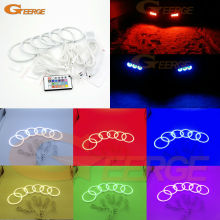 For Alfa Romeo 159 2005-2011 Excellent Multi-Color Ultra bright RGB LED Angel Eyes kit Halo Rings