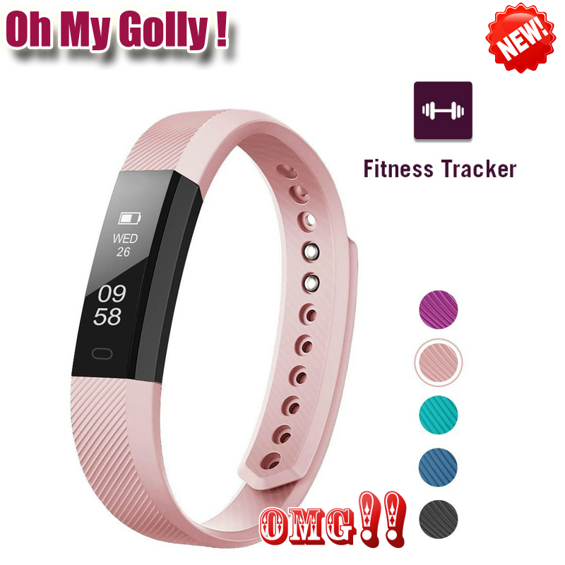 Fitness Tracker Smart Bracelet ID115 Veryfit APP Bluetooth Band Activity Monitor Alarm Clock Sports Wristband for iOS Android image