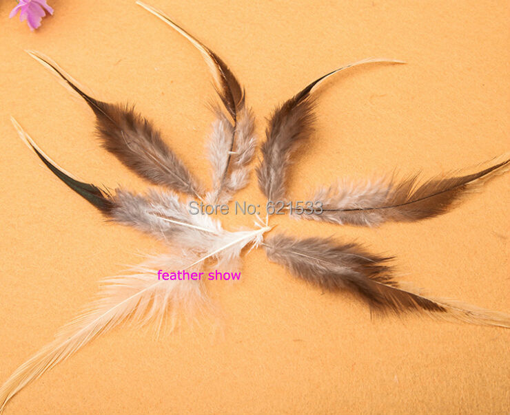 Remarkable, rather Badger cock hackle feathers