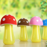 1 Piece USB Mushroom Lamp Humidifier USB Humidifier With Lamp Novel Air Purifier Free Shipping