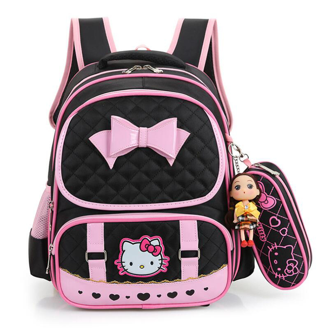 4f592d2998 Hello Kitty School Bags For Girls Cute Waterproof backpacks Children  Schoolbags Kids Bookbags Suit satchel mochila escolar