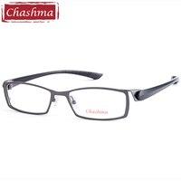 Chashma Marke Herren Titan Legierung Brillen Full Spektakel Rahmen Ultra Licht Myopie Gläser Rahmen Männlichen Brillen|male eyeglasses|frame malebrand glasses frame -