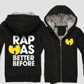 Wu tang clan moletom com capuz para homens estilo clássico clothing zipper hoodies moletons hip hop jaqueta de inverno ht015