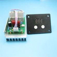 AC 220V 10000W SCR Digital Voltage Regulator Speed Control Dimmer Thermostat 80A