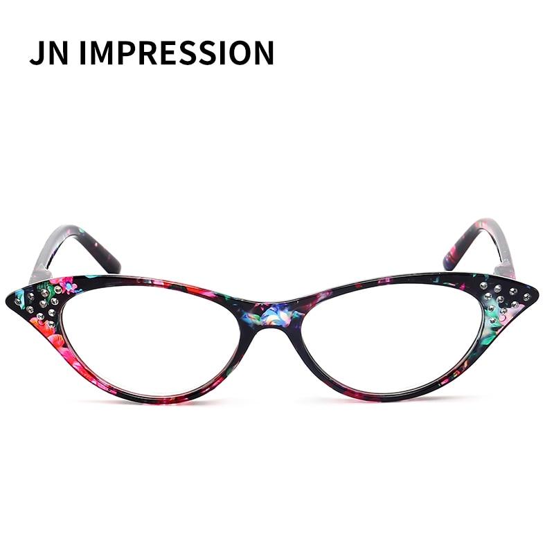 e1c9a9995d0d0 Cat Eye Women Reading Glasses Women Men Retro Luxury Brand Designer Plastic  Eyewear Hyperopia Presbyopia Fashion