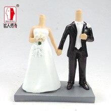 Wedding gift custom wedding Cake Topper Personalized Custom real doll custom clay dolls fixed resin body SR108