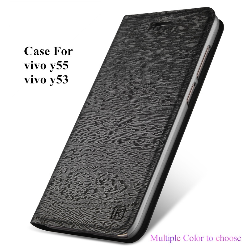 For vivo y55 y53 Case Flip Cover Luxury Leather Holster Phone Housing with holder Card function Shell Capa For y55s y53i Fundas