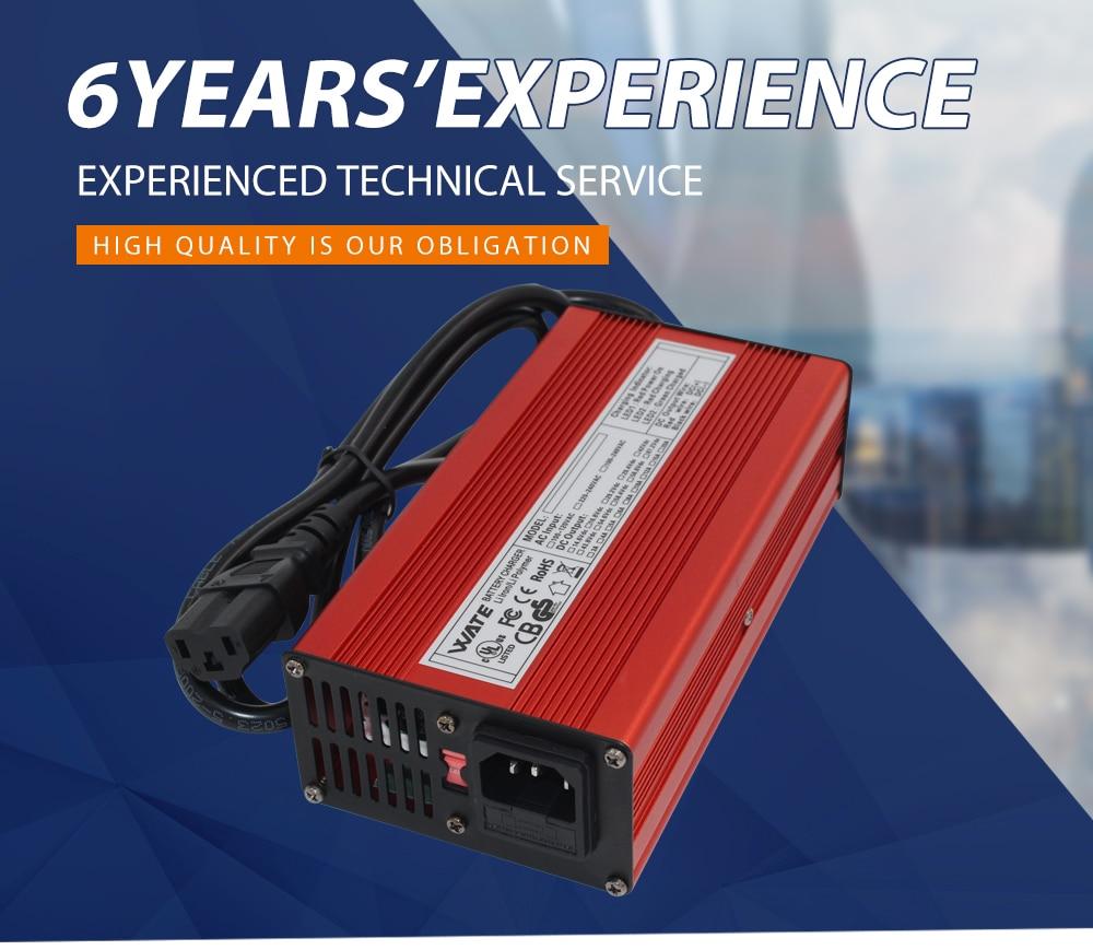 Inteligente 58.8 V Carregador De Bateria de