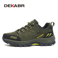 DEKABR Brand Outdoor Venture Men Climbing Hiking Shoes Women Breathable Ventilator Hunting Trekking Sport Shoes Big