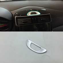 ABS Matte Interior caution light Cover Trim 4pcs Car Styling Accessories For Nissan 2017 TIIDA
