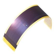 Thin Film Solar Panel Cell Small flexible Battery Ogniwa Fotowoltaiczne Kids Science Placa Fotovoltaica panneau solaire 0.5W1.5V все цены