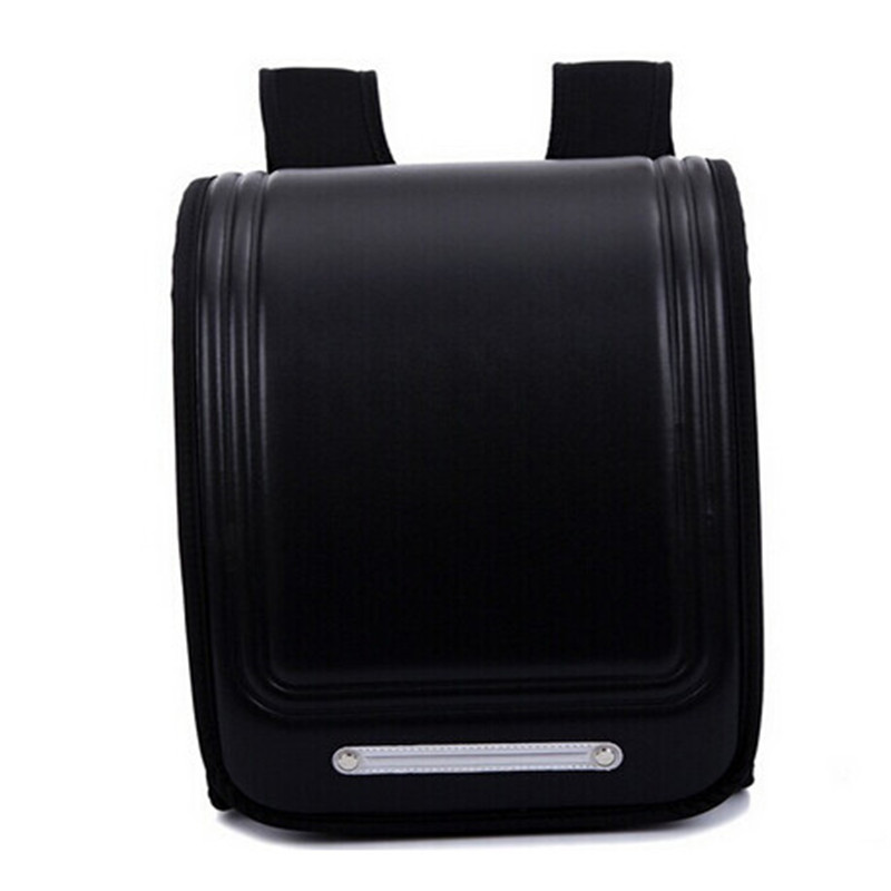 ФОТО new Japan style school bags for kids fashion waterproof cover PU leather backpack