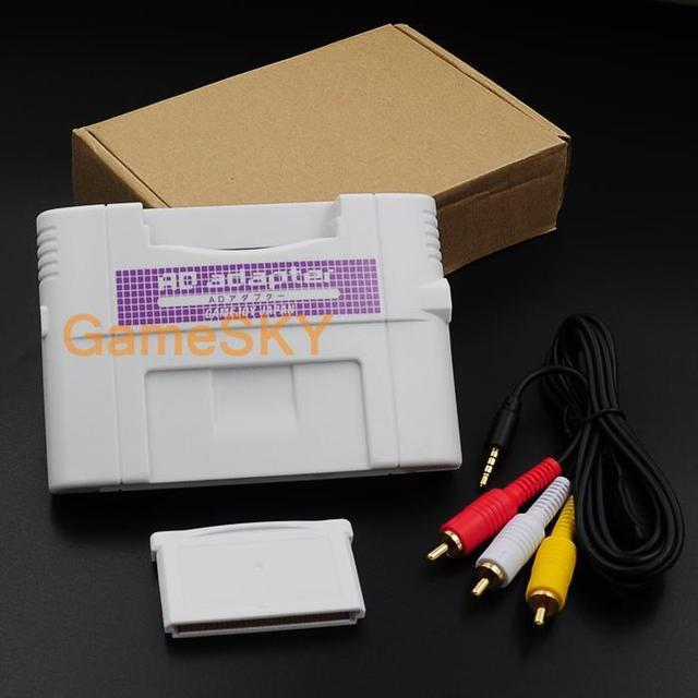 US $46 0 |For GB/GBA/GBC/GG/NES/PEC To SNES Adapter Card Game Converter on  Aliexpress com | Alibaba Group