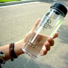 My Fashion Breakproof Water Bottle 19.5x6.5cm Travel Camping Lemon Juice Drinkware Readily Space HP Gift Bottle 500ml