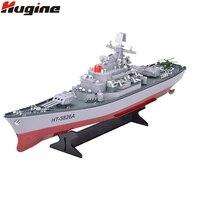 Радиоуправляемая лодка 1:250 военный корабль дистанционного управления военный линкор центральная команда кабин морской самолет электронна