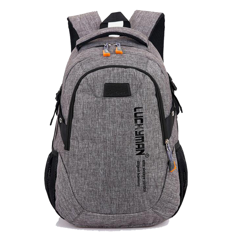 Teenagers School bags Boys and Girls School Backpack Daypack Backpack for Men Women Work Travel Laptop Backpack Mochila(China)