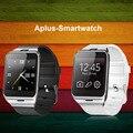Envío gratis hot gv18 smart watch sim/soporte de la tarjeta t nfc bluetooth sincronización de reloj notificador smartwatch android pulsera