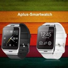 Freies verschiffen heißer gv18 smart watch sim/t karte unterstützung nfc bluetooth uhr sync notifier smartwatch android armband