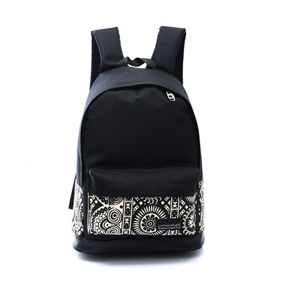 1PC Boys Girls Unisex Canvas Rucksack Backpack School Book Shoulder Bag Small Fresh Style Double Root Travel Bag Droship 10Aug28 backpack 2016 new fashion rucksack school shoulder bag unisex boys girls canvas students backpack casual women shoulder bag