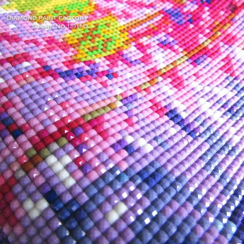 Алмаз кескіндеме бұрышы Роза - Өнер, қолөнер және тігін - фото 2