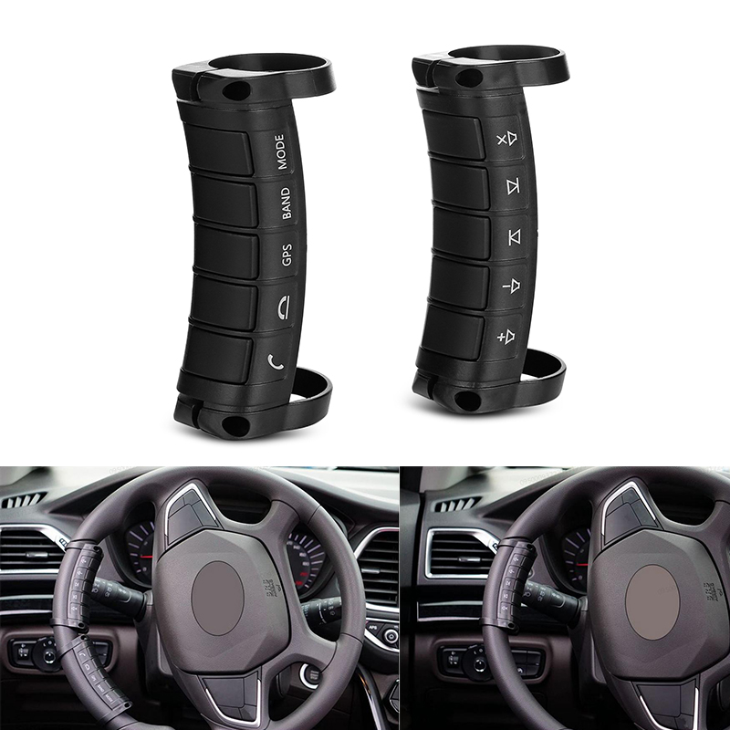 Universal Car Steering Wheel Bluetooth Remote Controls For Control 2din Car Player DVD Wireless Remote Control Music GPS Hang Up