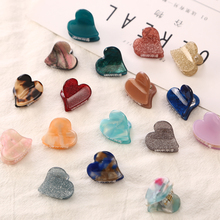 10PC/LOT New Fashion Quality Baby Girls Small Hair Claw Cute Candy Color flower Jaw Clip Children Hairpin Accessories