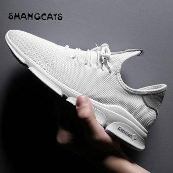 064ff6bc43c6 Белые мужские туфли, chaussure homme, мужская обувь, повседневная мужская  обувь без шнурков, белые мужские кроссовки, tenis masculino adulto