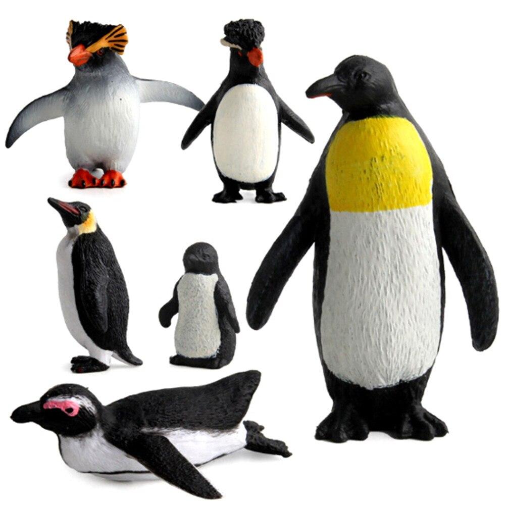 Action figurine pingouin océan animal modèle modèle de simulation éducative