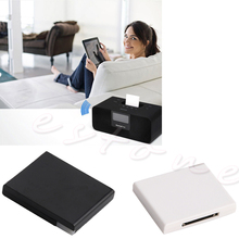 OOTDTY Bluetooth Music Receiver A2DP For Speaker Docks With 30 Pin Apple Dock Connector