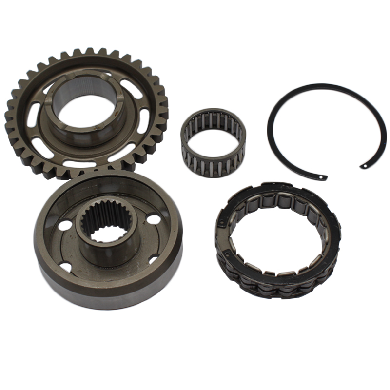 Wheel Hub One Way Starter Clutch Gear Assy for Honda TRX450 TRX450ER TRX 450 R/ER Sportrax 2006~2014 CRF450X CRF450 X 2005-2015