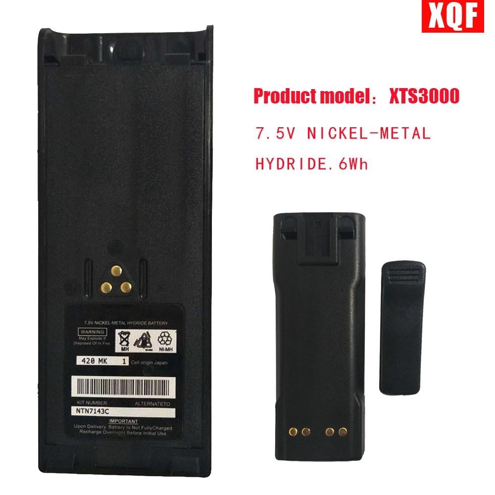 XQF 7.5V NICKEL-METAL HYDRIDE Battery For Motorola Ht1000 Mt2000 Mts2000 Gp900 Gp1200 Gp2013 Ht1000 Ht6000 Radio With Belt Clip