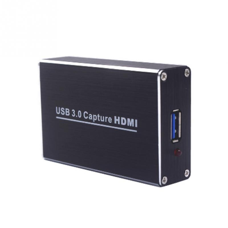 2018 USB3.0 Drive-free HDMI HD Video Capture Card OBS Mobile Game Conference Broadcast Collection Box obs live streaming usb3 0 video capture card 1080p 60fps convert hdmi video to usb3 0 for windows mac linux free shipping