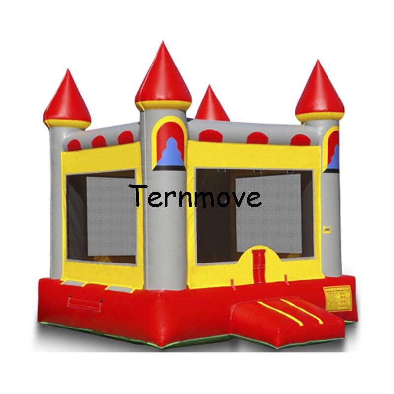 Château gonflable gonflable sautant des jouets, Trampoline gonflable pour l'usage résidentiel de parc, videur gonflable extérieur, cavalier, maison