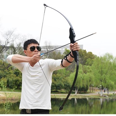 arco 30 40lbs arco recurvo para destro tiro com arco caca jogo esportes ao ar