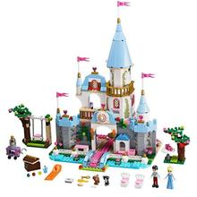 цены SY325 Princess Cinderella's Romantic Castle building blocks girls Bricks educational toys gift Compatible with 41055