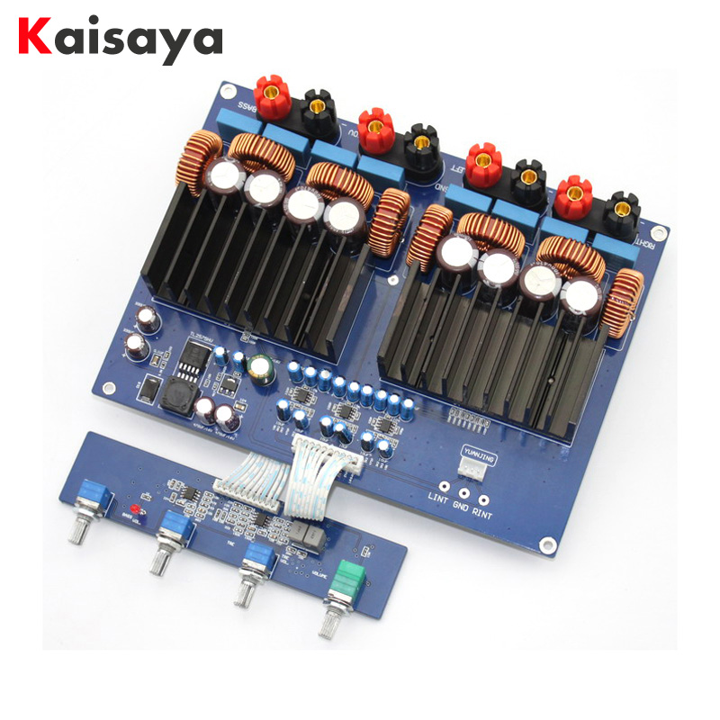 HiFi Class D TAS5630 2.1 amplificador High Power Amplifier Board amplifier audio opa1632 TL072 600W + 2 * 300W DC48V