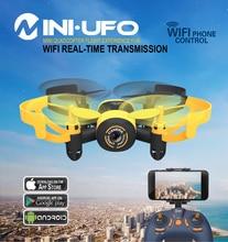 JXD 512W JXD512W 2.4Ghz WiFi FPV Mini Drone One-Key-return & Headless Mode RC Quadcopter with 0.3MP HD Camera RTF VS CX-10W
