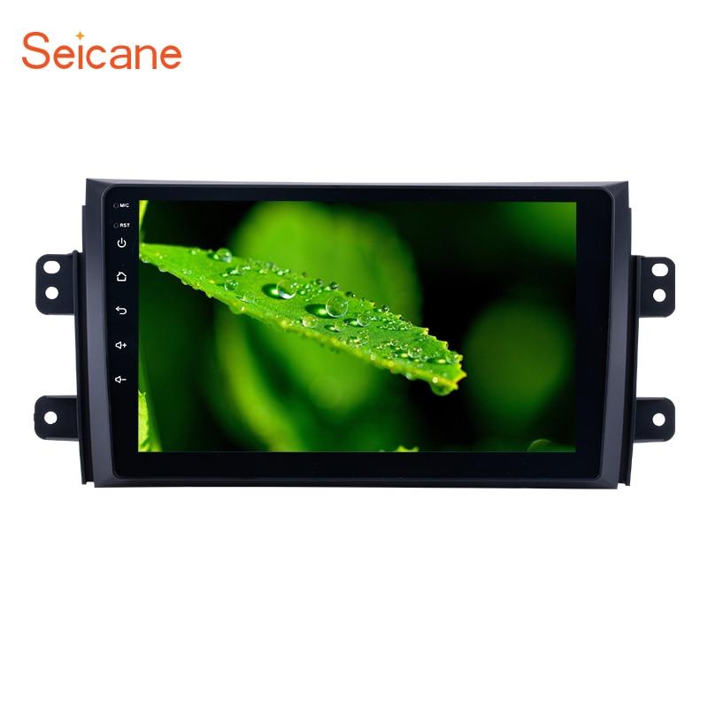 Seicane Car Radio For 2006-2012 Suzuki SX4 Android 6.0/7.1 9