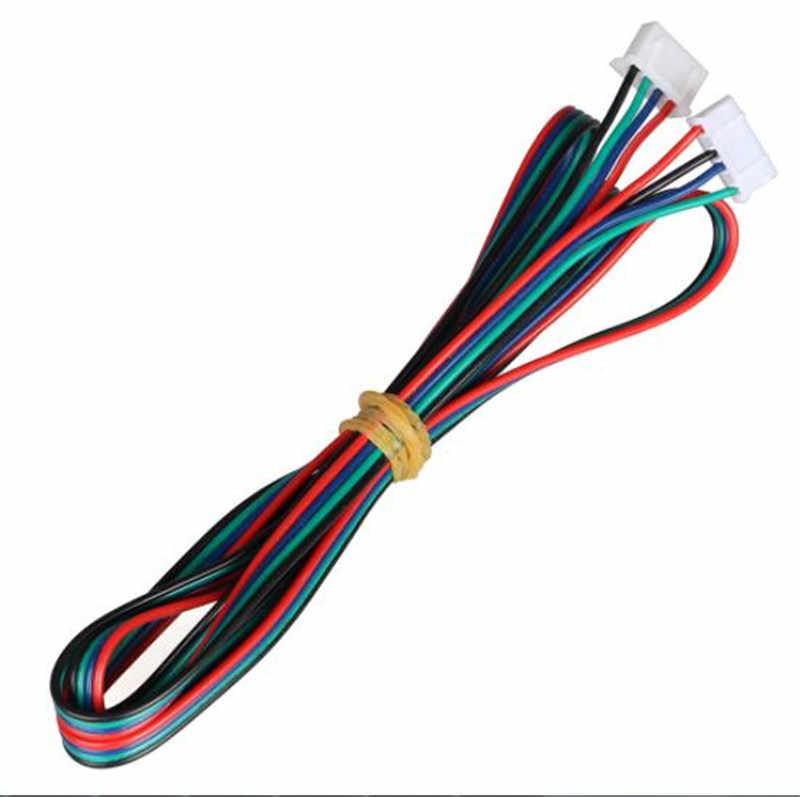 Satz Verbinder Stepper Motor Kabel Anschluss Stecker Zubehör Langlebig