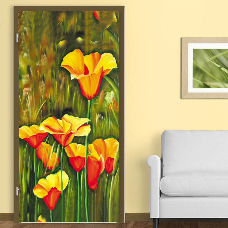Online get cheap flower photo galleries for Custom mural painting