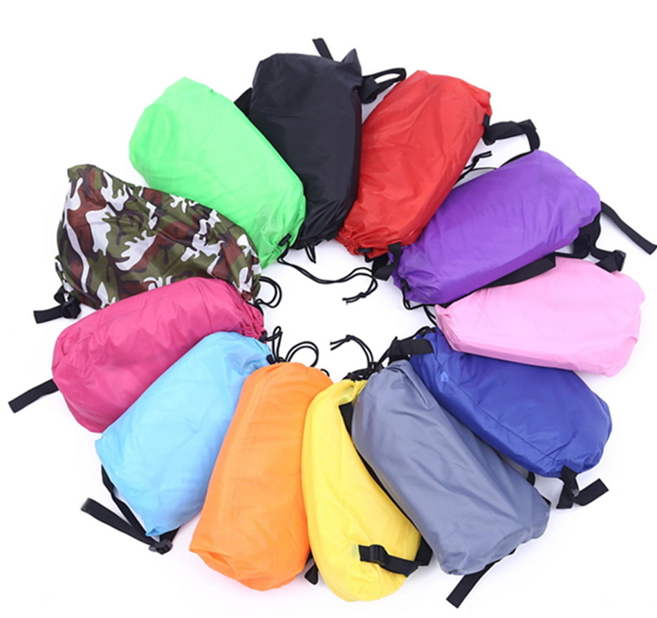 Portable Gonflable laybag Air canapé salon pour intérieur ou extérieur étanche Repaire paresseux sac Gonflable de Couchage Lazybag Canapé