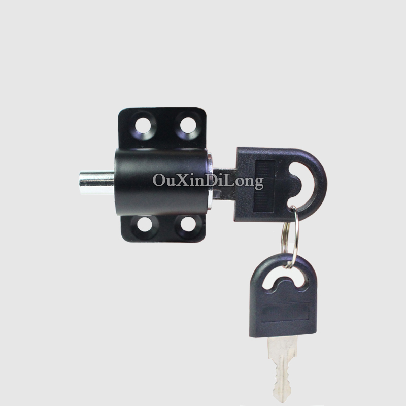 Brand New 1pieces black color sliding window lock with key child safety protection limit lock sliding door lock KF1093Brand New 1pieces black color sliding window lock with key child safety protection limit lock sliding door lock KF1093