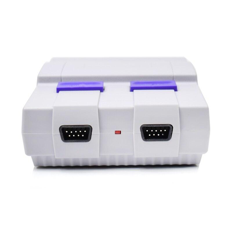 Mini HD HDMI TV Console de jeu vidéo portable rétro famille Console de jeu intégré 821 classique pour les jeux SNES double manette PAL & NTSC - 5